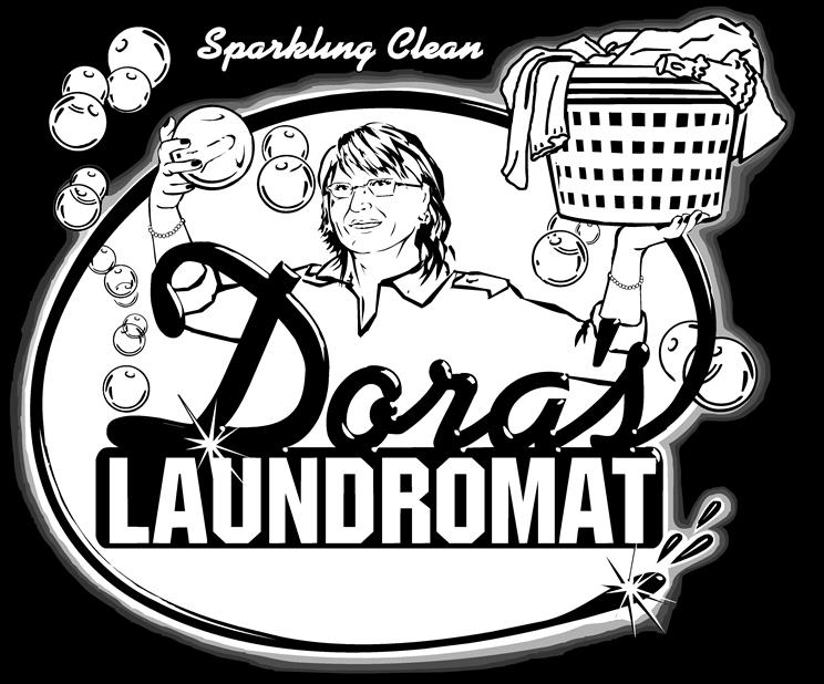 Doras Laundromat , Laundromat , Laundromat Dover NJ , Laundromat Morris County NJ , Laundry Morris County NJ , Laundromat Near Me Retina Logo